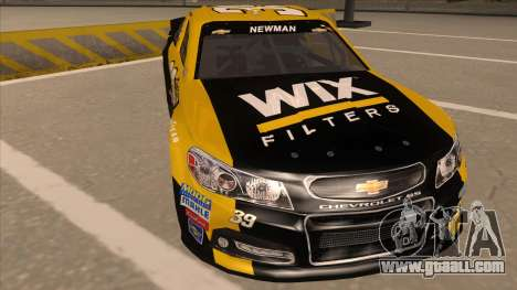 Chevrolet SS NASCAR No. 39  Wix Filters for GTA San Andreas left view
