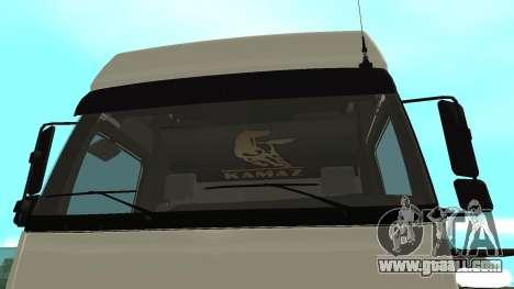 KAMAZ 5490 for GTA San Andreas right view