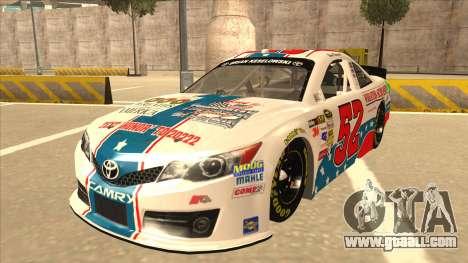 Toyota Camry NASCAR No. 52 TruckerFan for GTA San Andreas