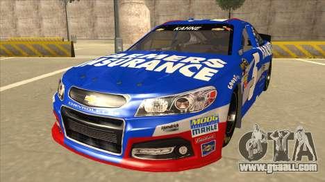Chevrolet SS NASCAR No. 5 Farmers Insurance for GTA San Andreas