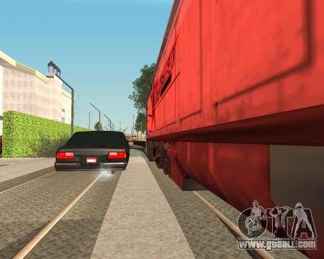 Toned Premier V2 for GTA San Andreas left view