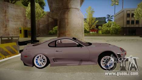 Toyota Supra RZ for GTA San Andreas back left view