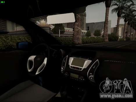Hyundai ix20 for GTA San Andreas side view