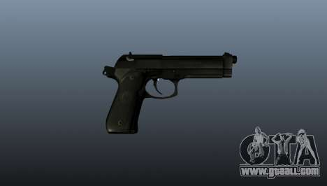 Beretta M9 Pistol for GTA 4 third screenshot