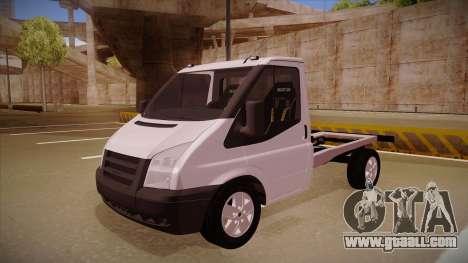 Ford Transit Drift Car for GTA San Andreas