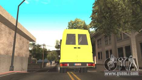 Iveco Daily 35 I minibus 1978 for GTA San Andreas back left view