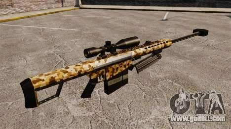 The Barrett M82 sniper rifle v10 for GTA 4 second screenshot