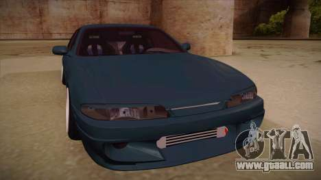Nissan Silvia S14 Zenki for GTA San Andreas left view
