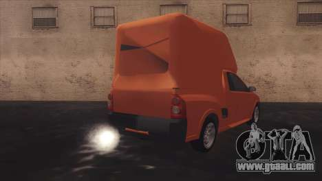 Chevrolet Montana Combo for GTA San Andreas side view