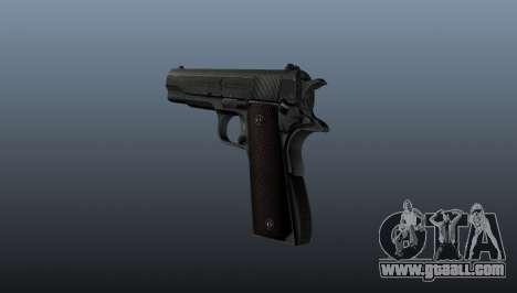 Pistol M1911 v5 for GTA 4 second screenshot
