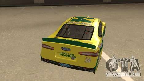 Ford Fusion NASCAR No. 34 Peanut Patch for GTA San Andreas right view