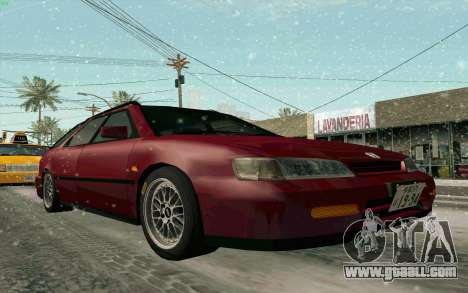 Honda Accord Wagon for GTA San Andreas inner view
