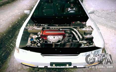 Honda Accord Wagon for GTA San Andreas wheels