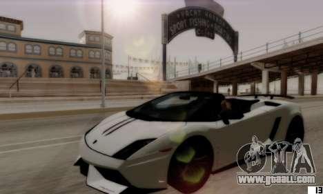 ENB VI for Low PCs for GTA San Andreas forth screenshot