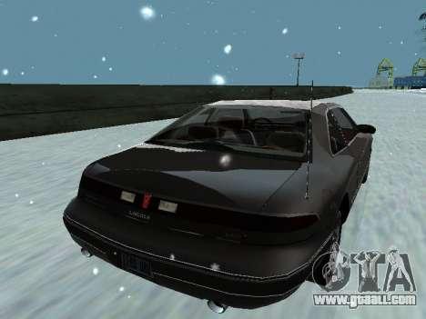 Lincoln Continental Mark VIII 1996 for GTA San Andreas engine