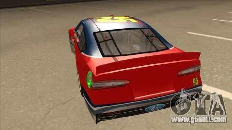 Ford Fusion NASCAR No. 95 for GTA San Andreas back view