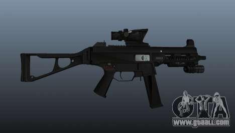 UMP45 submachine gun v1 for GTA 4 third screenshot