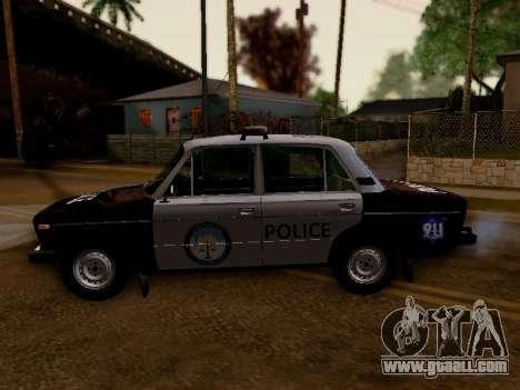 VAZ 2106 Los Santos Police for GTA San Andreas