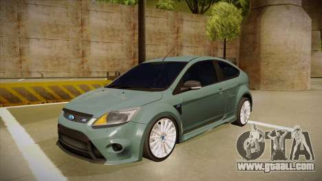Ford Focus RS 2010 for GTA San Andreas