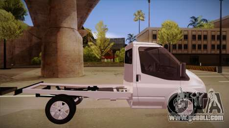 Ford Transit Drift Car for GTA San Andreas back left view