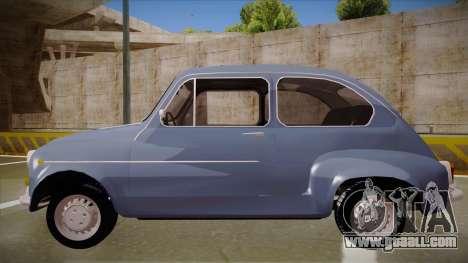 Zastava 750 Fico for GTA San Andreas left view