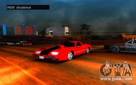 Hide HUD for GTA San Andreas