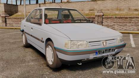 Peugeot 405 GLX Final for GTA 4