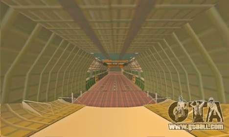 Andromada GTA V for GTA San Andreas upper view