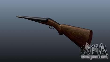 Double barrel shotgun for GTA 4 second screenshot