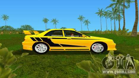 Subaru Impreza WRX v1.1 for GTA Vice City left view