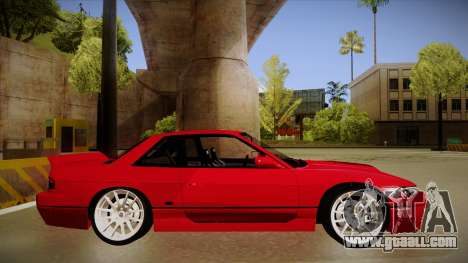 Nissan Silvia S13 Rocket Bunny for GTA San Andreas back left view
