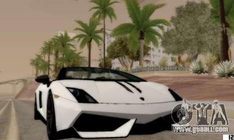 ENB VI for Low PCs for GTA San Andreas