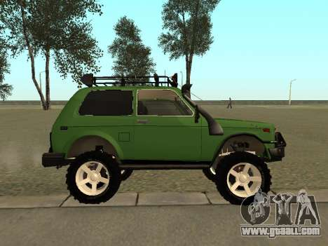 VAZ 21213 Niva 4 x 4 Off Road for GTA San Andreas left view