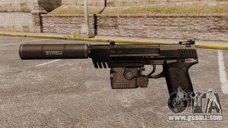 HK USP Pistol for GTA 4 third screenshot