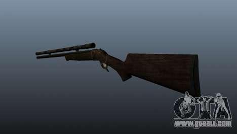Sniper rifle Remington Rolling-Block for GTA 4 second screenshot