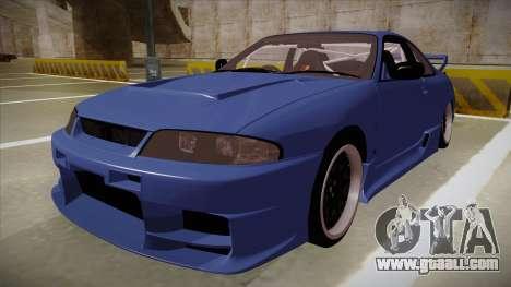 Nissan Skyline R33 JDM for GTA San Andreas