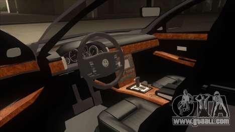 Volkswagen Passat 2.0 Turbo for GTA San Andreas inner view