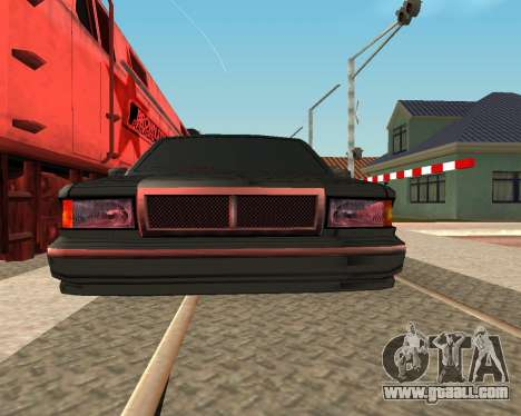 Toned Premier V2 for GTA San Andreas back left view