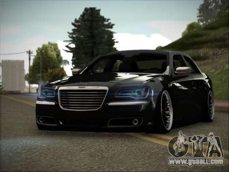 Chrysler 300C Stance for GTA San Andreas back left view