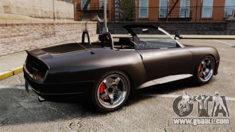 Comet convertible for GTA 4 left view