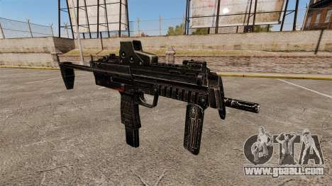 HK MP7 submachine gun v1 for GTA 4