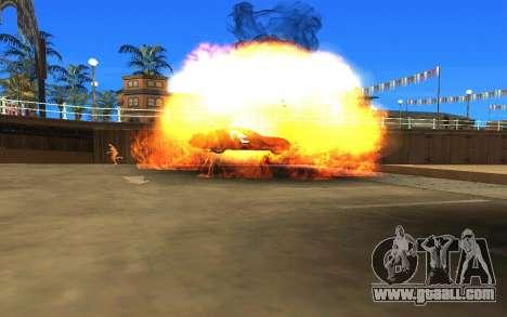 GTA V to SA: Realistic Effects v2.0 for GTA San Andreas fifth screenshot