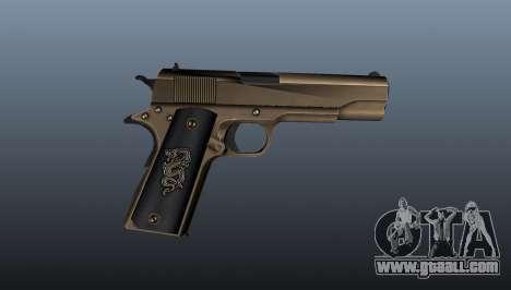 Pistol M1911 v2 for GTA 4 third screenshot