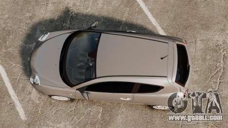 Alfa Romeo MiTo for GTA 4 right view