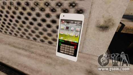 Keyboard Samsung Galaxy S2 for GTA 4