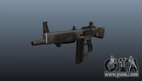 The AA-12 shotgun for GTA 4