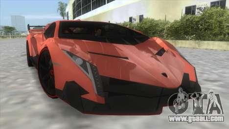 Lamborghini Veneno for GTA Vice City