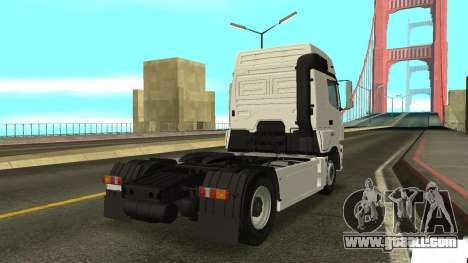 KAMAZ 5490 for GTA San Andreas back left view