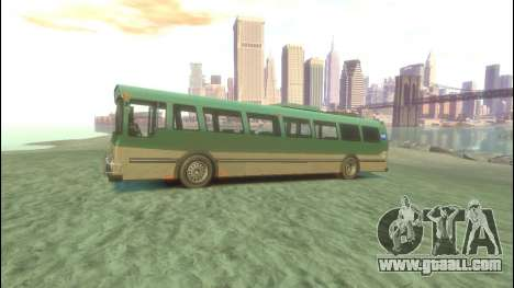 Bus from GTA 5 for GTA 4 left view