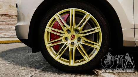 Porsche Cayenne Turbo 2012 v3.5 for GTA 4 back view